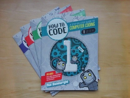 How to Code series of 5 books