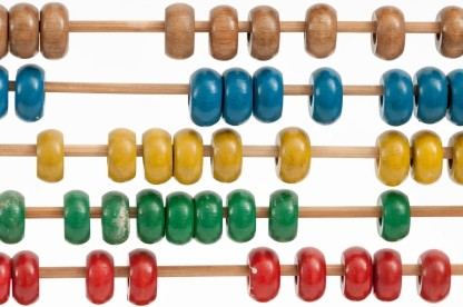 Abacus image used for the web analytics article