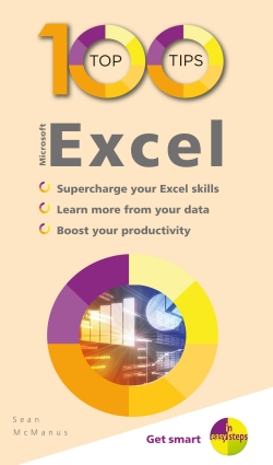 Book cover: 100 Top Tips: Microsoft Excel