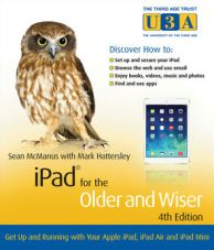 Book cover: Microsoft Office for the older and wiser