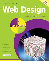 Book cover: Web Design in Easy Steps